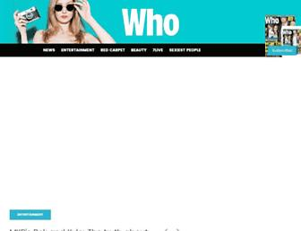 who.com.au screenshot