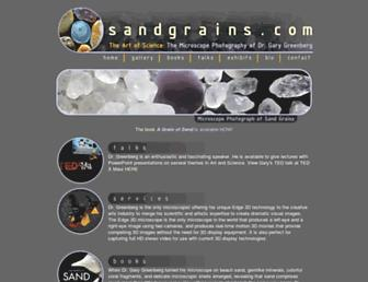 Thumbshot of Sandgrains.com