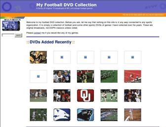 myfootballdvds.com screenshot