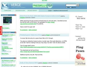 verge-rpg.com screenshot