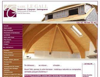 menuiserie-legall.com screenshot