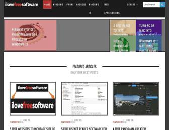 ilovefreesoftware.com screenshot