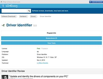 driver-identifier.en.lo4d.com screenshot