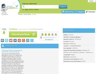 youwave.en.downloadastro.com screenshot