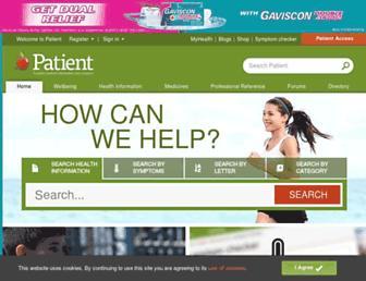 patient.info screenshot