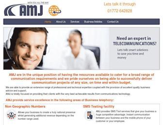 Thumbshot of Amjconsult.co.uk