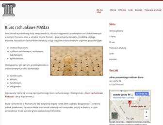 Main page screenshot of kto.org.pl