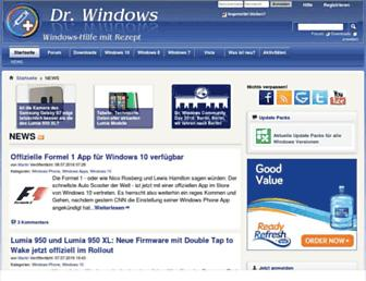 drwindows.de screenshot