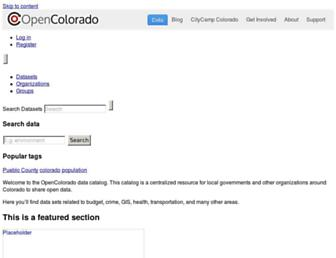 data.opencolorado.org screenshot