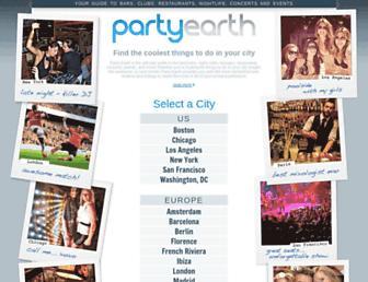 Thumbshot of Partyearth.com