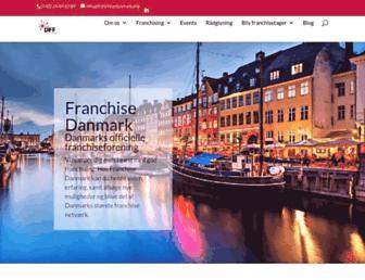 franchisedanmark.org screenshot