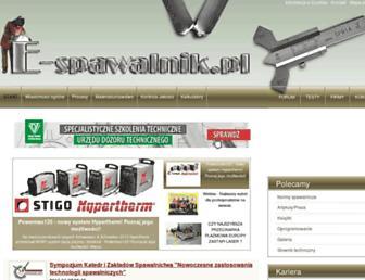 e-spawalnik.pl screenshot