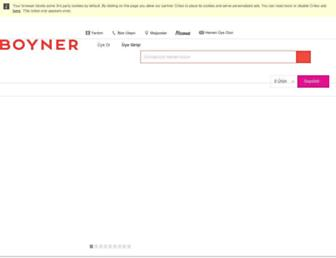 boyner.com.tr screenshot