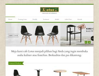 mejakursicafe.com screenshot