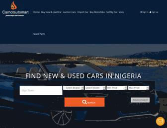 carnotautomart.com screenshot