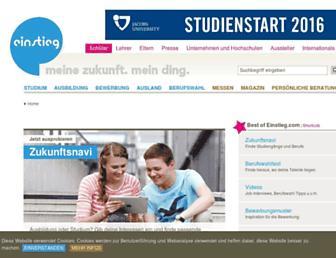 einstieg.com screenshot