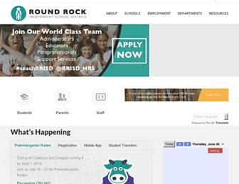 Thumbshot of Roundrockisd.org
