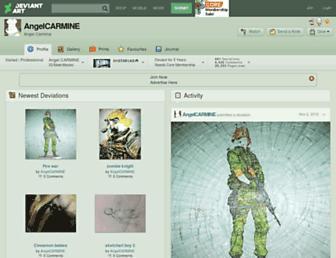 angelcarmine.deviantart.com screenshot