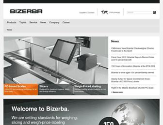 bizerba.com screenshot