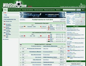 wildstat.com screenshot