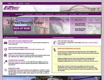 Thumbshot of E-zpassny.com