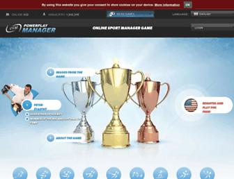 Thumbshot of Powerplaymanager.com