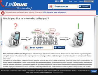 Thumbshot of Tellows.co.uk