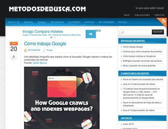 Main page screenshot of buscopio.net