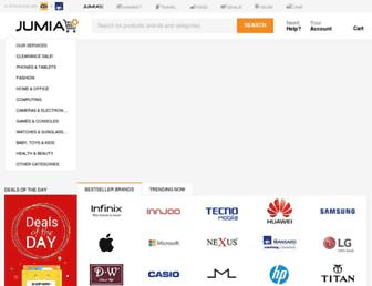 jumia.com.ng screenshot