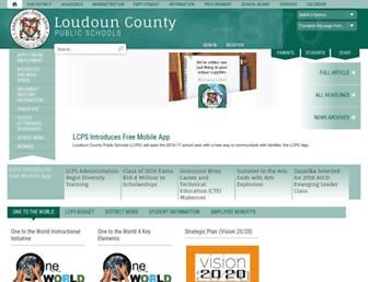 lcps.org screenshot