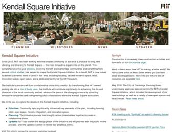 kendallsquare.mit.edu screenshot