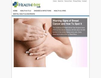 Thumbshot of Healthhype.com