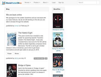 Thumbshot of Movieposterdb.com