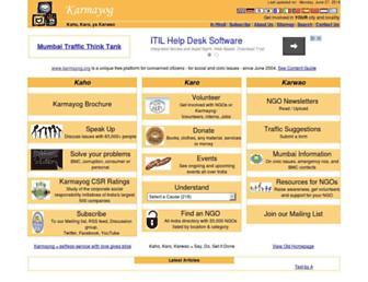 Thumbshot of Karmayog.org