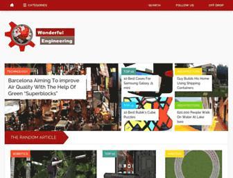 wonderfulengineering.com screenshot