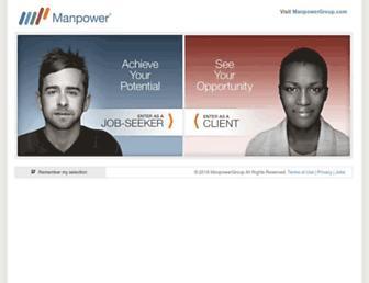 manpower.com screenshot