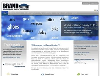 brandshelter.com screenshot