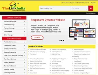 Thumbshot of Thelinkindia.com