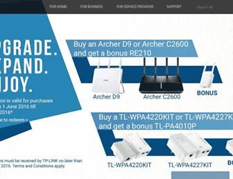 tp-link.com.au screenshot