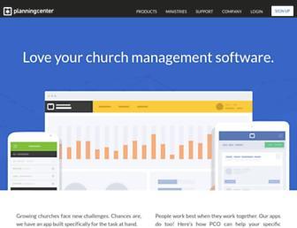 Thumbshot of Planningcenteronline.com