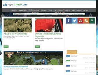 oyunsitesi.com screenshot