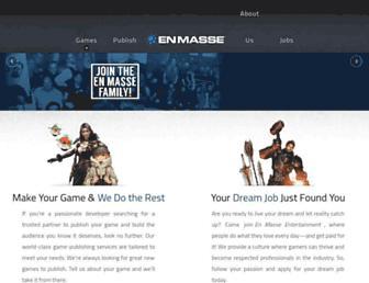 Thumbshot of Enmasse.com