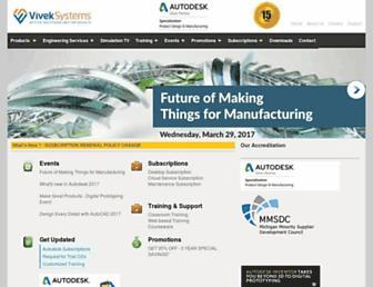 viveksystems.com screenshot