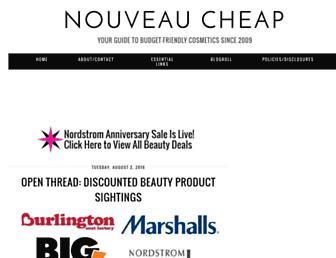 nouveaucheap.blogspot.com screenshot