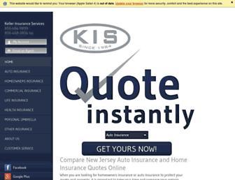 kellerinsurance.com screenshot