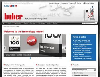 huber-online.com screenshot