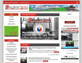 palawan-news.com screenshot