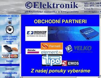 elektronik.sk screenshot