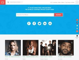 5music.net screenshot