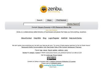 zenbu.co.nz screenshot